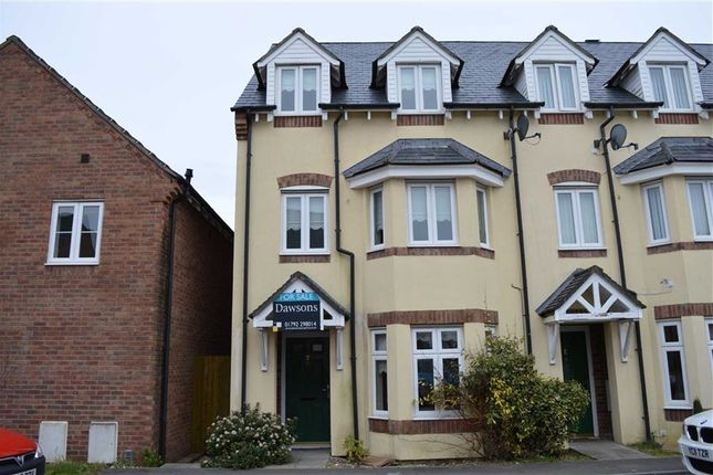 Thumbnail Town house for sale in Heol Y Gwartheg, Gowerton, Swansea