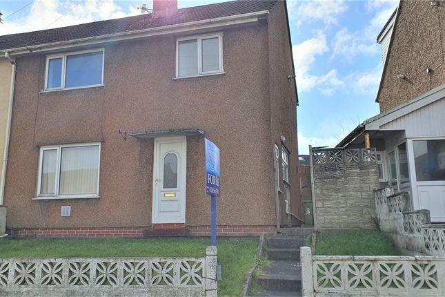 Thumbnail Semi-detached house for sale in Heol Maendy, North Cornelly, Bridgend, Mid Glamorgan