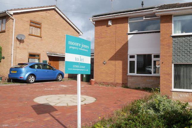 3 bed semi-detached house to rent in Bracken Way, Rugeley WS15
