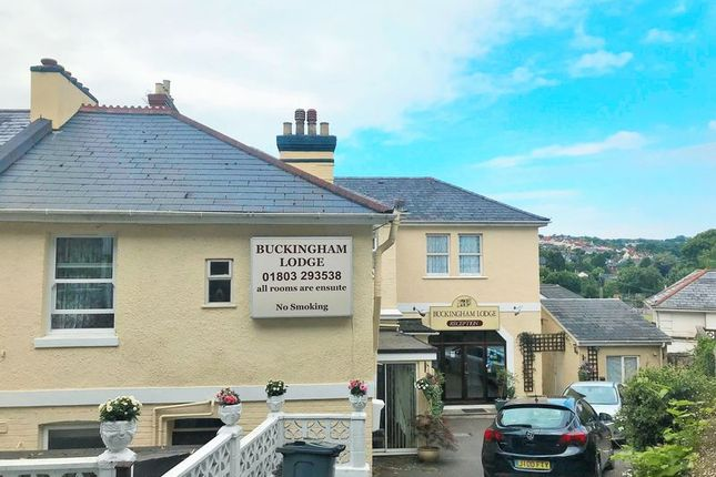 Thumbnail Hotel/guest house for sale in Falkland Road, Torquay