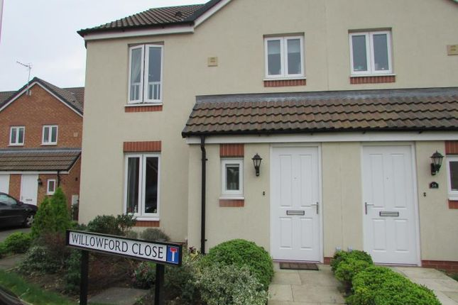 Thumbnail Semi-detached house to rent in Willowford Close, Long Lawford, Rugby