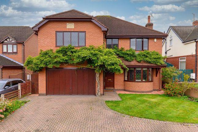 Thumbnail Detached house for sale in Main Road, Shavington, Cheshire