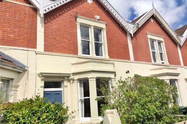 Thumbnail Terraced house to rent in Berkeley Road, Westbury Park, Bristol