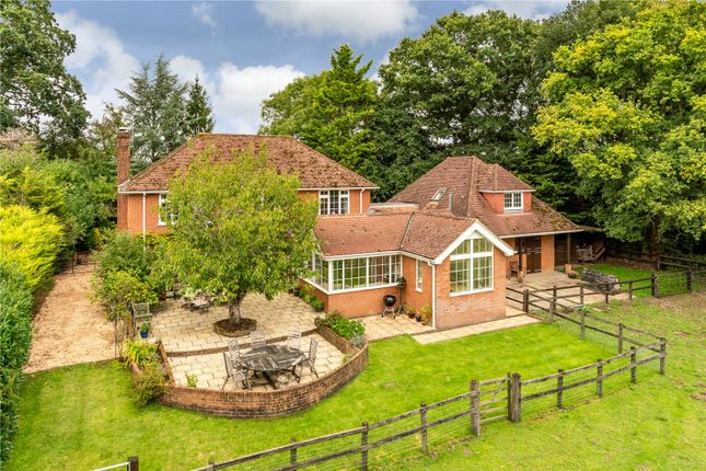Thumbnail Detached house for sale in Spouts Lane, West Wellow, Hampshire