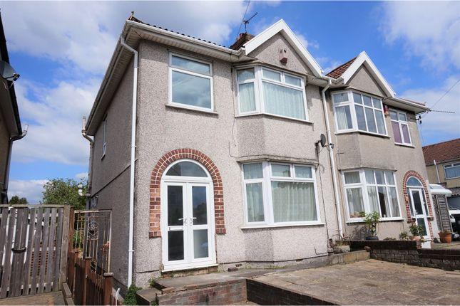 Thumbnail Semi-detached house for sale in Radley Road, Fishponds