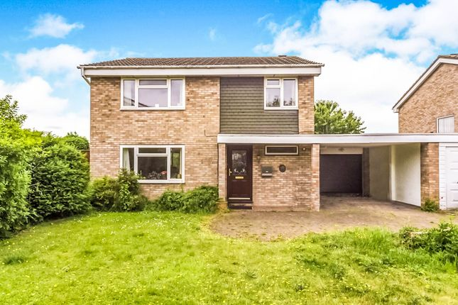Thumbnail Detached house for sale in Widecombe Close, Bedford
