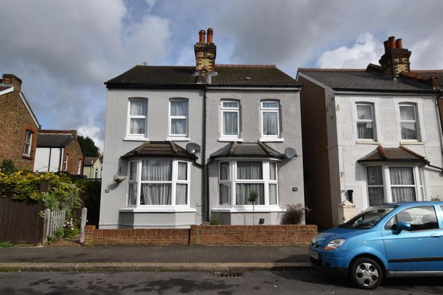 Thumbnail Semi-detached house for sale in Gordon Road, Redhill