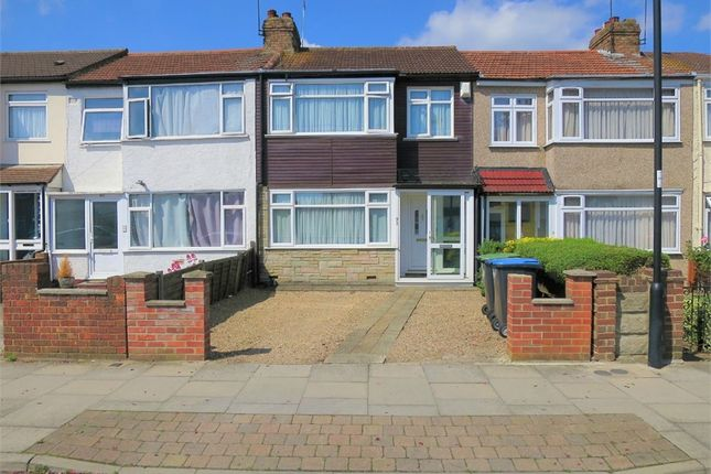 Thumbnail Terraced house for sale in Albany Park Avenue, Enfield, Greater London