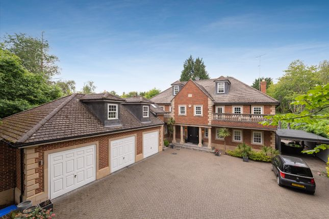 Thumbnail Detached house to rent in Heath Rise, Virginia Water, Surrey
