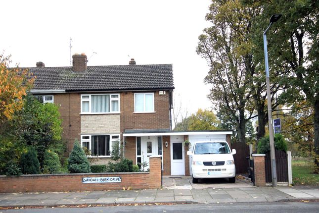 Thumbnail Semi-detached house for sale in Sandall Park Drive, Wheatley Hills, Doncaster