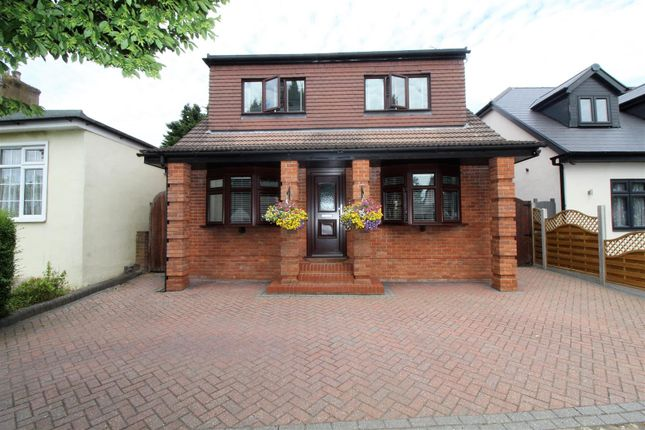 Thumbnail Detached house for sale in Homeway, Harold Wood, Romford