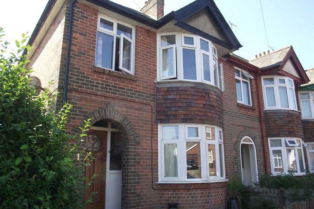 Thumbnail End terrace house for sale in Lorne Road, Dorchester, Dorset