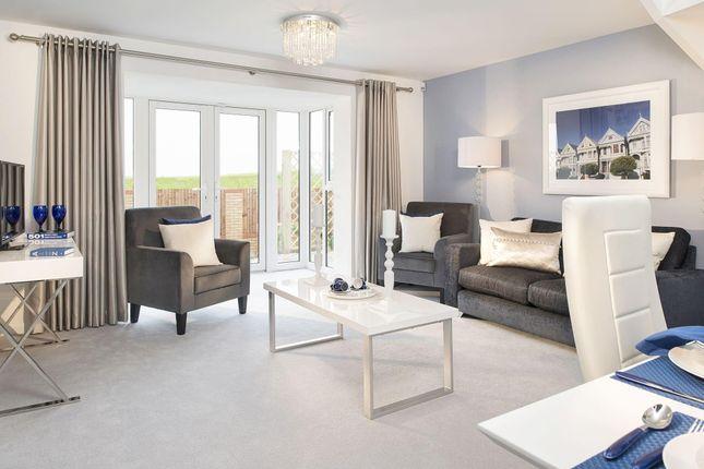 "Thumbnail Semi-detached house for sale in ""Bampton"" at Kepple Lane, Garstang, Preston"