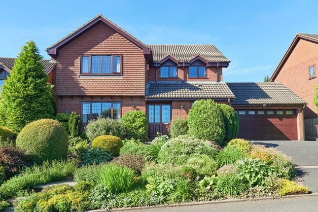 Thumbnail Detached house for sale in The Heights, Leek, Staffordshire