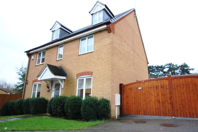 Thumbnail Detached house for sale in Malham Drive, Kettering