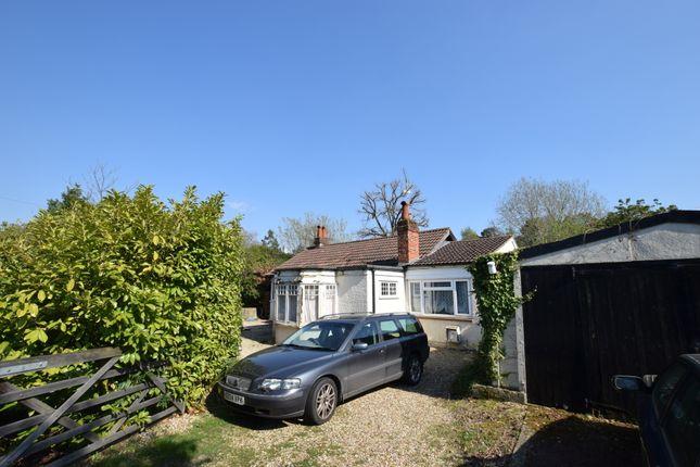 Thumbnail Detached bungalow for sale in Basingbourne Road, Fleet