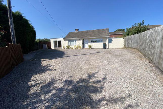 Thumbnail Detached bungalow for sale in Sedbury Lane, Tutshill, Chepstow