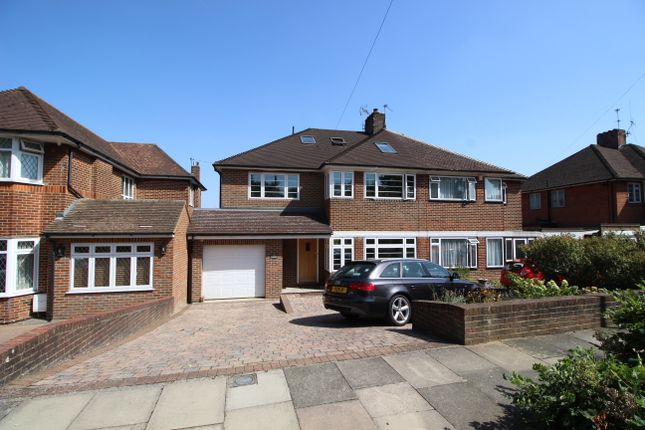 Thumbnail Semi-detached house for sale in Lakeside, Enfield