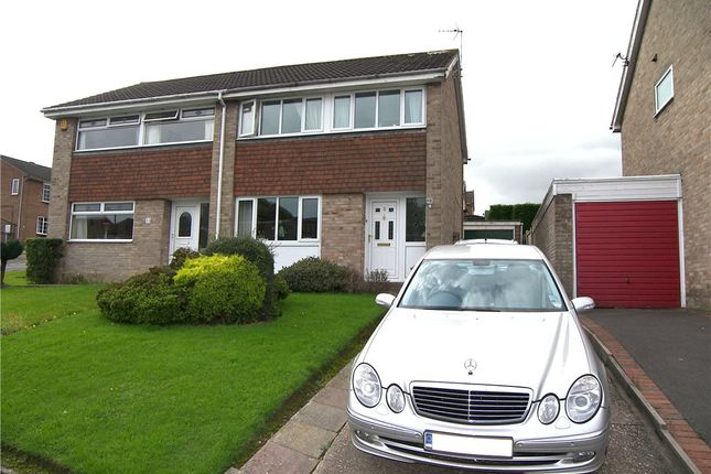 Thumbnail Semi-detached house for sale in Fairview Close, Kilburn, Belper