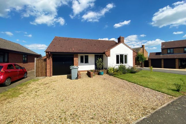 Thumbnail Detached bungalow for sale in Bytham Heights, Castle Bytham, Grantham