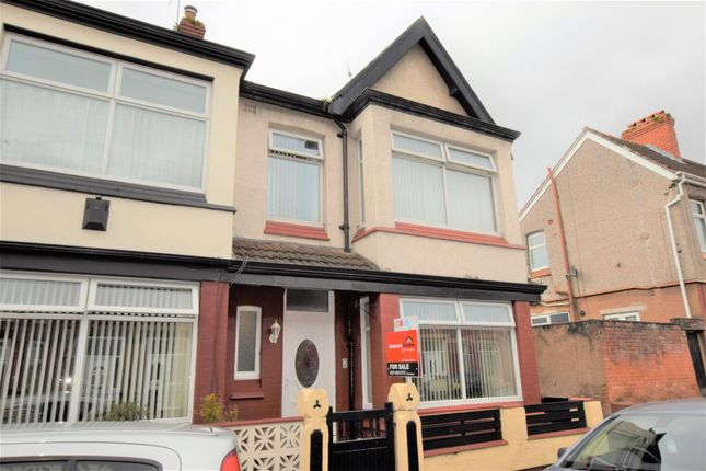 Thumbnail End terrace house for sale in Allcot Avenue, Tranmere, Birkenhead