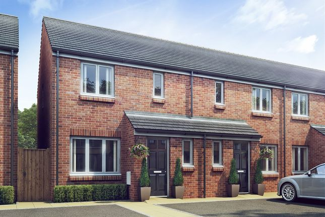 "Thumbnail End terrace house for sale in ""The Hanbury"" at Reddings Lane, Tyseley, Birmingham"