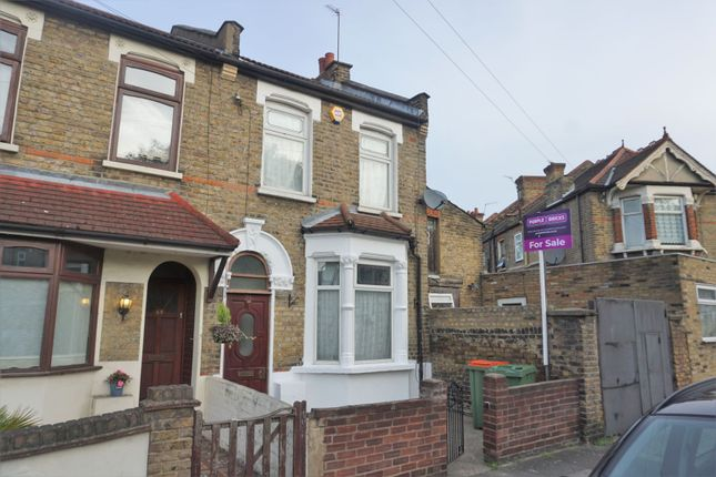 Thumbnail End terrace house for sale in Coronation Road, London