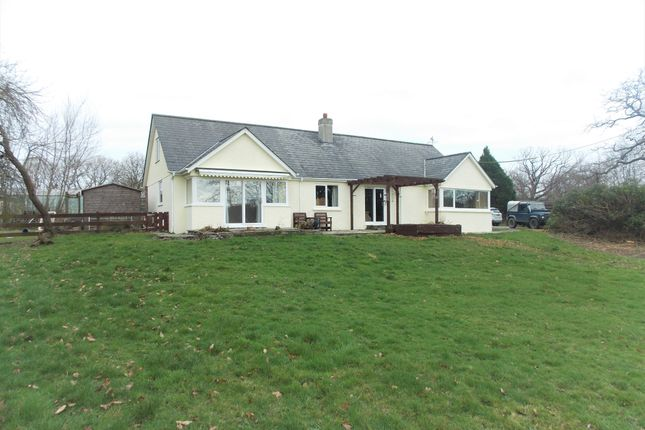Thumbnail Detached Bungalow For Sale In St Giles On The Heath