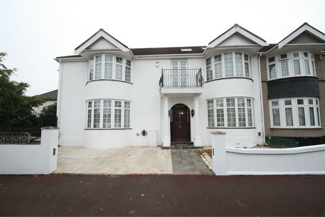 Thumbnail Semi-detached house for sale in Beccles Drive, Barking, Essex