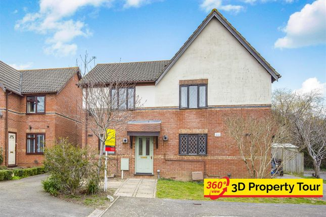 Thumbnail 2 bed semi-detached house for sale in The Belfry, Hailsham