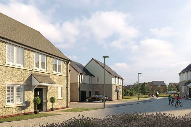 Thumbnail Detached house for sale in Elmsbrook, Phase 2, Bicester