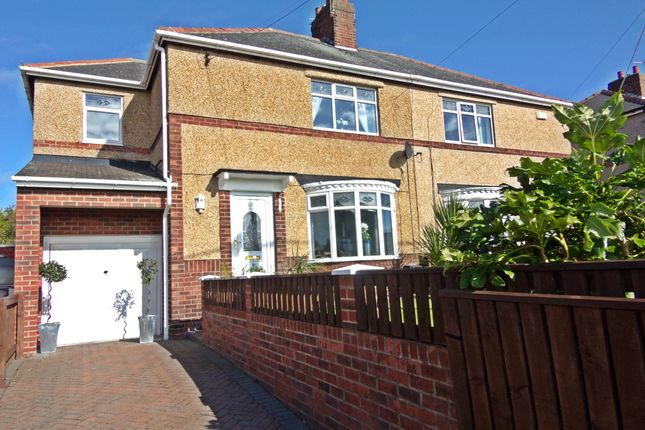 Thumbnail Semi-detached house for sale in Station Road North, Murton, Seaham