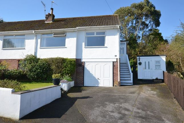 Thumbnail Semi-detached bungalow for sale in Nether Meadow, Marldon, Paignton