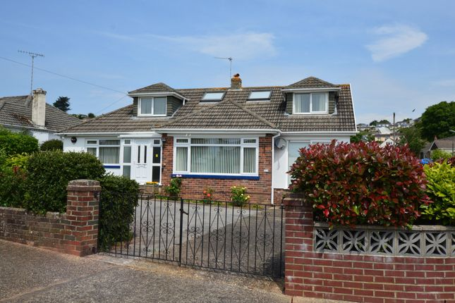 Thumbnail Detached bungalow for sale in Linacre Road, Torquay