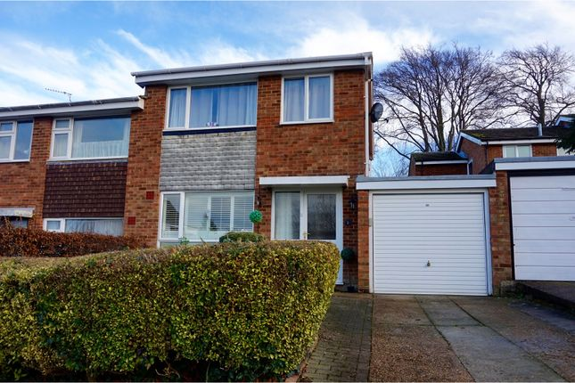 Thumbnail Semi-detached house for sale in Haydock Road, Royston