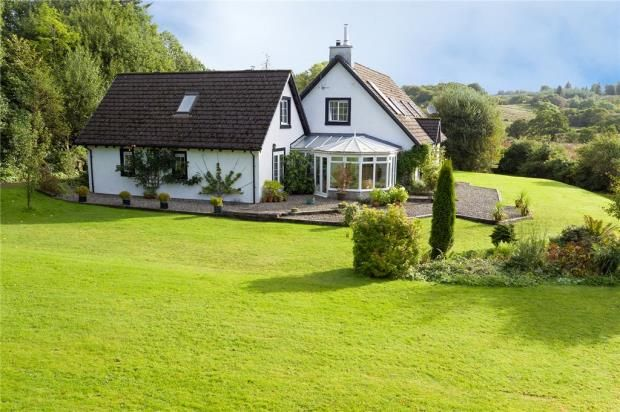 Thumbnail Detached house for sale in East Lodge, Lochgair, Lochgilphead, Argyll And Bute