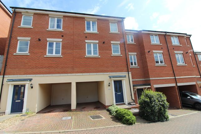 Thumbnail Town house to rent in Meridian Rise, Ipswich