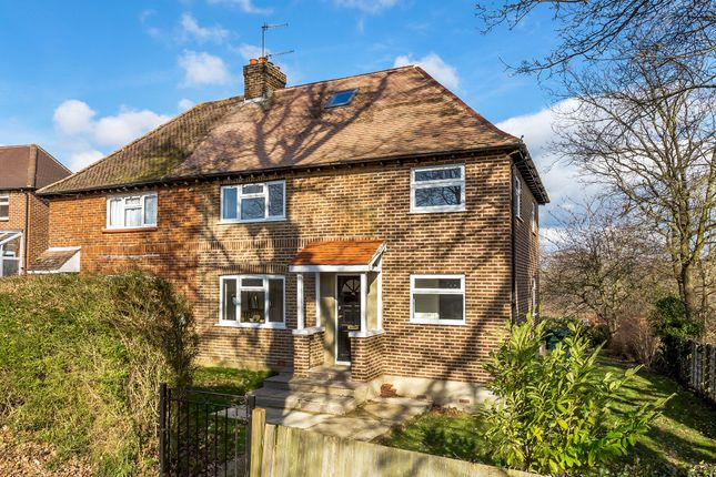 Thumbnail Semi-detached house for sale in Chequers Hill, Bough Beech, Edenbridge