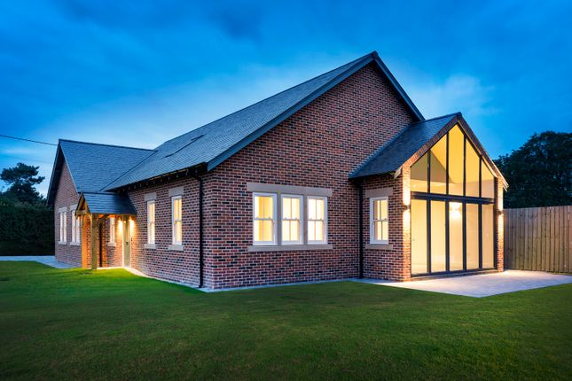 Thumbnail Detached bungalow for sale in Field View, Stannington, Morpeth