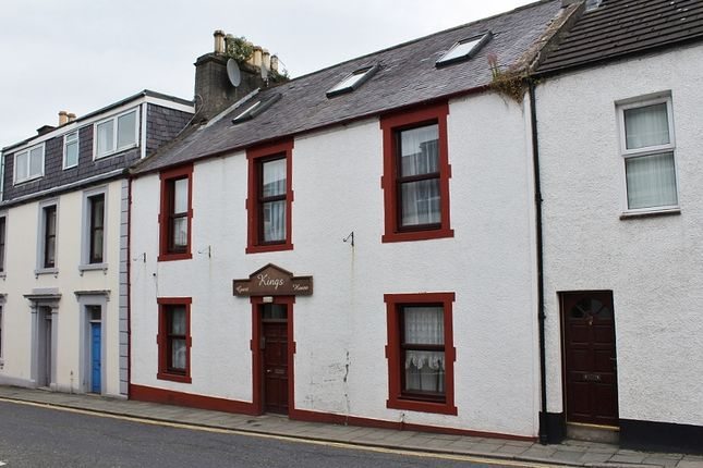 Thumbnail Terraced house for sale in 21 King Street, Stranraer