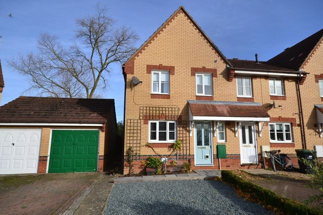 Thumbnail End terrace house to rent in Morton Close, Ely