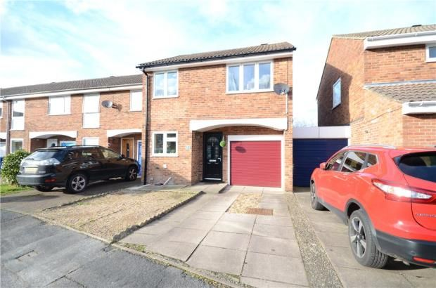 Thumbnail Terraced house for sale in Upton Close, Farnborough, Hampshire
