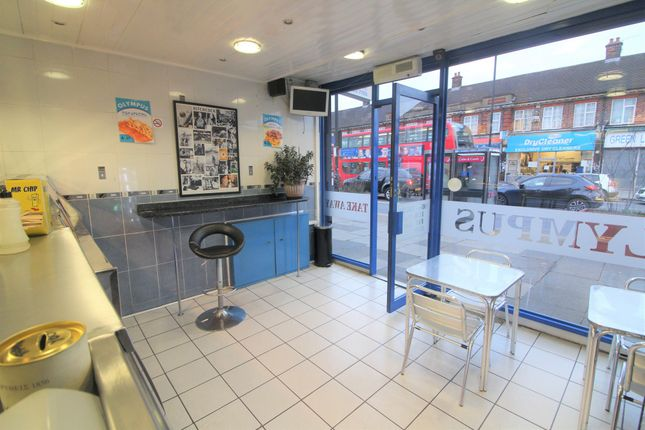 Thumbnail Restaurant/cafe for sale in Green Lanes, Palmers Green, London