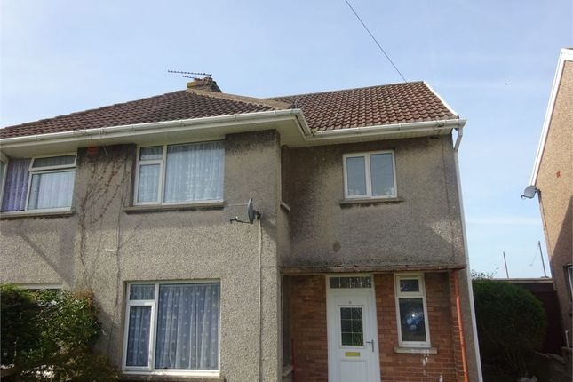 Thumbnail Semi-detached house to rent in Heol Tegfryn, Pyle, Bridgend