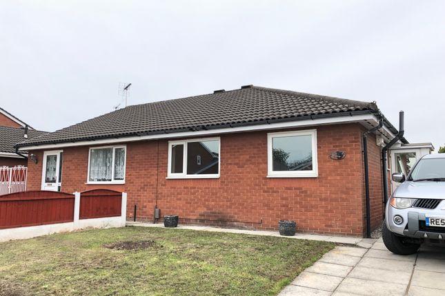 Thumbnail Semi-detached bungalow to rent in Bond Close, Warrington