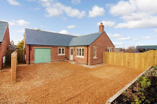 Thumbnail Detached bungalow for sale in School Road, Cumwhinton, Carlisle