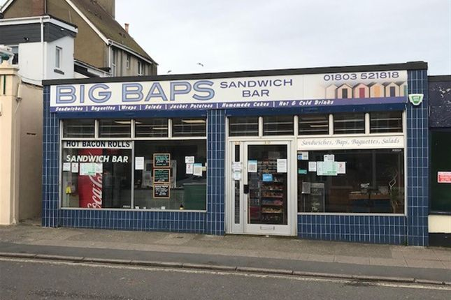 Thumbnail Leisure/hospitality to let in Manor Road, Paignton