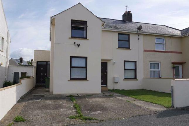 Thumbnail Semi-detached house for sale in Heol Cerwyn, Fishguard