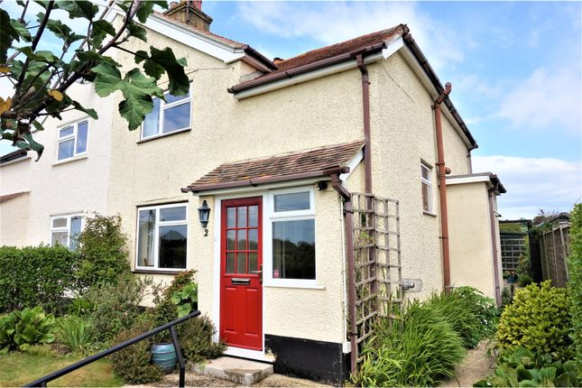 Thumbnail Semi-detached house for sale in Downs Road, West Stoke