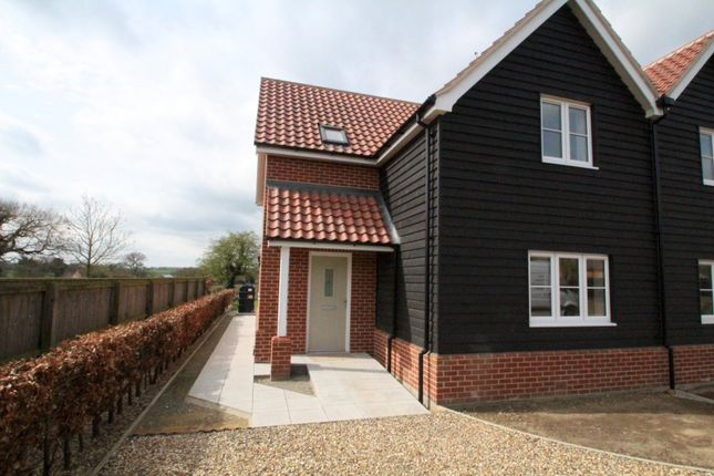 Thumbnail Semi-detached house to rent in Chapel Lane, Great Glemham, Saxmundham